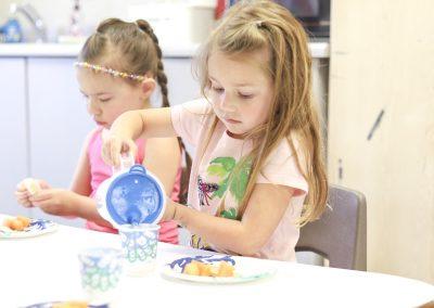 preschool co op child snack