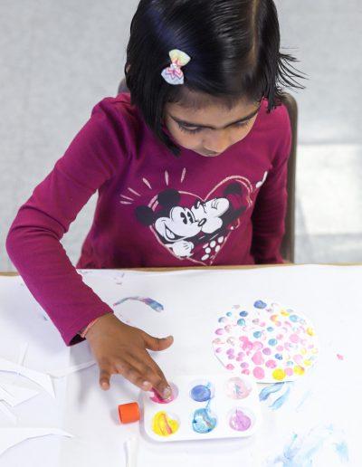 co op preschool art