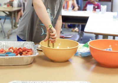 preschool cooking
